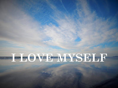 Anti-bullying Photograph - I Love Myself by Gallery Of Hope