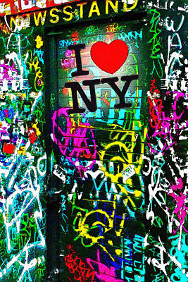 Painting - I Love Ny by Tony Rubino