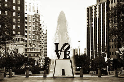 I Love Philadelphia Art Print by Bill Cannon