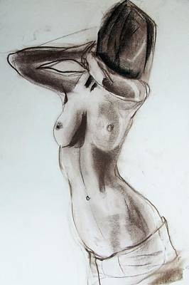Drawing - I Love The Women by Jarmo Korhonen aka Jarko
