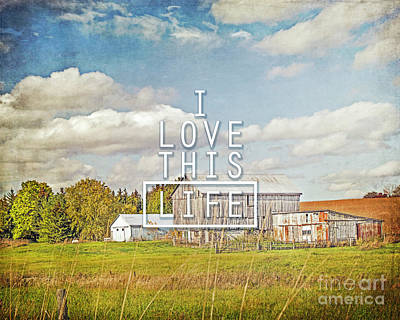Photograph - I Love This Life by Hal Halli