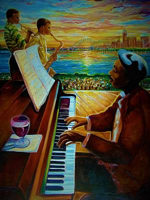 Painting - I Love This Music by Emery Franklin
