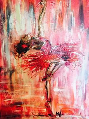 I Love To Dance In Red  Original