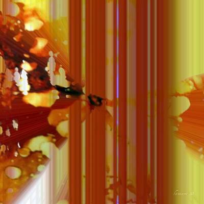 Communion Mixed Media - I Love To Dream  by Fania simon