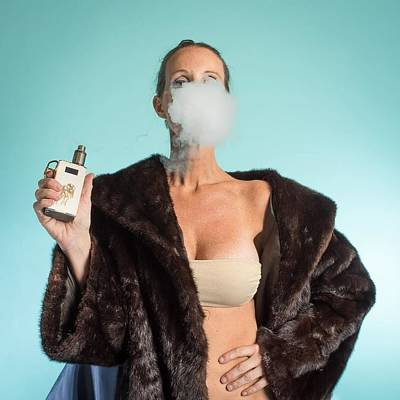 Photograph - I Love To Vape by Lisa Piper