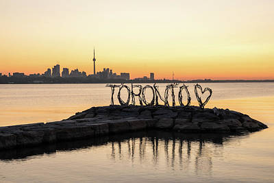 Photograph - I Love Toronto by Georgia Mizuleva