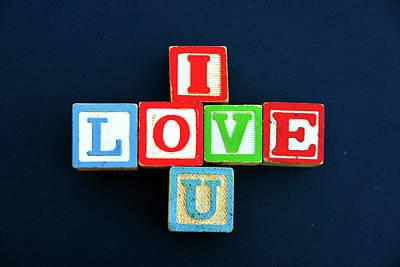 Photograph - I Love U by David Lee Thompson