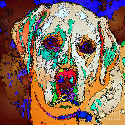 Digital Art - I Love You. Pet Series by Rafael Salazar