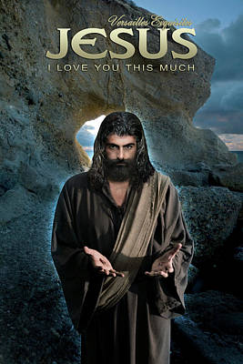 Photograph - I Love You This Much - Jesus Christ by Acropolis De Versailles