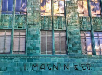 Photograph - I. Magnin Oakland by Bill Owen