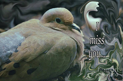 Photograph - I Miss You by Debby Pueschel