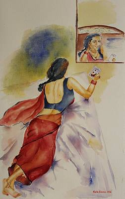 Painting - I Miss You by Geeta Biswas
