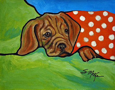 Painting - I Need A Hug by Suzanne McKee