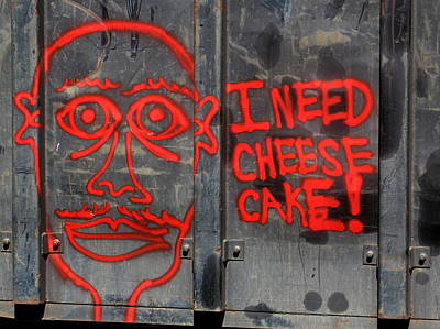 Photograph - I Need Cheesecake by Joseph C Hinson Photography