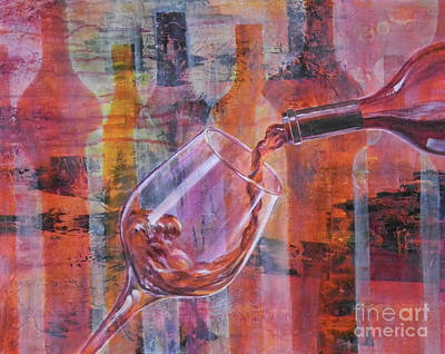 Pouring Wine Digital Art - I Prefer Red, You? by Carol McIntyre
