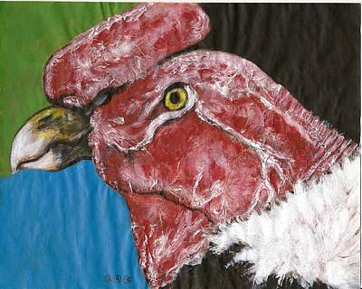 Vulture Mixed Media - I Provide Needed Services by George I Perez