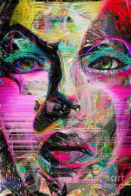 Digital Art - I Put A Little Too Much by Rafael Salazar