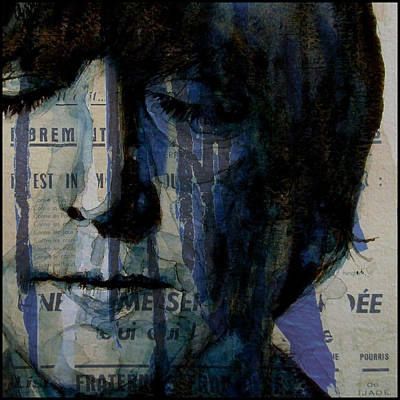 John Lennon Wall Art - Painting - I Read The News Today Oh Boy  by Paul Lovering