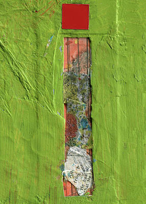 Mixed Media - The Letter I by Robert Cattan