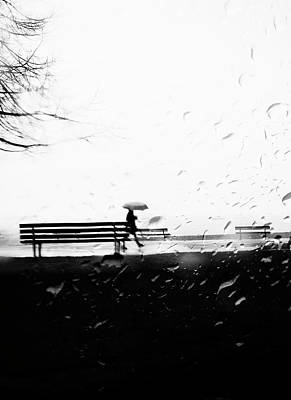 Photograph - I Run In Tears by The Artist Project