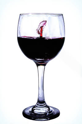 Photograph - I See A Fish In My Wine by Marnie Patchett