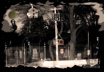 Spooky Digital Art - I See Dead People by Madeline Ellis