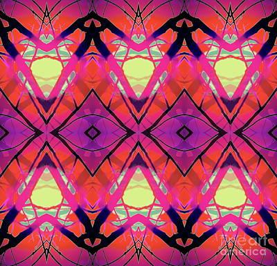 Digital Art - I See Pattern  by Expressionistart studio Priscilla Batzell
