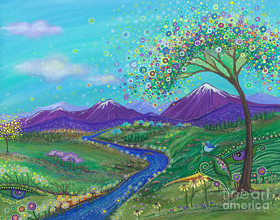 Painting - I See Skies Of Blue by Tanielle Childers