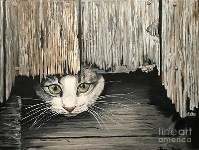 Painting - I See You by Pam Fries