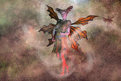 Fantasy Royalty-Free and Rights-Managed Images - I See Your Fairy Dust and Raise You This by Betsy Knapp