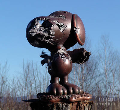 Photograph - I Shot Snoopy by Vladimir Kozma