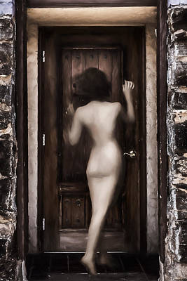 Digital Art - I Stand At The Door And Knock by John Haldane