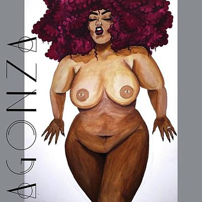 Nude Wall Art - Photograph - I Think I'm Finished Lol #thickgirls by AGONZA Art