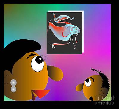 Digital Art - I Think It's A Bird by Iris Gelbart