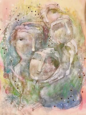 Mixed Media - I Trust You by Eleatta Diver