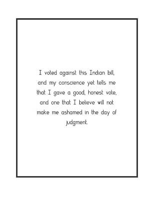 Digital Art - I Voted Against This Indian... by Famous Quotes
