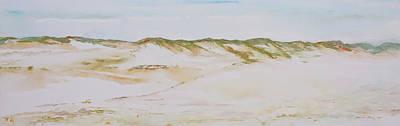 Sanddunes Painting - I Walk Alone by Melanie Meyer