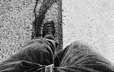 Photograph - I Walk The Line by Glenn McCarthy