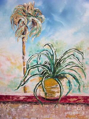 Painting - I Wanna Be A Palm Tree by Sigrid Tune