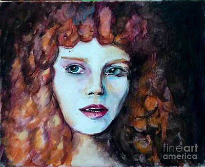 Anne Rice Painting - I Want More by Kristof Corvinus