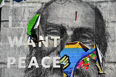 Photograph - I Want Peace by Harry Spitz