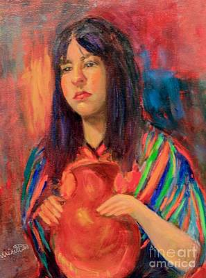 Painting - I Want This Jug by Marcia Dutton