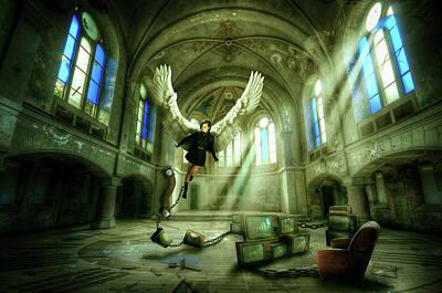 Digital Art - I Want To Brake Free by Nathan Wright