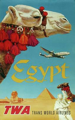Egypt Painting - I Want To Go Back And See It All Again by Eastern Accent