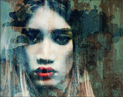 Eyes Mixed Media - I Want To Know What Love Is  by Paul Lovering