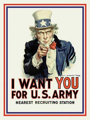 Digital Art - I Want You by Gary Grayson