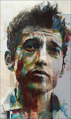 Bob Dylan Painting - I Want You  by Paul Lovering