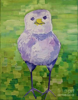 Painting - I'm A Little Chicken by Donna Howard