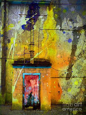 Photograph - I Wear My Heart On The The Door by Tara Turner