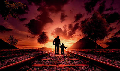 Photograph - I Will Always Be With You by Nato Pereira